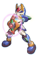 Model X - Blade Armor by ultimatemaverickx