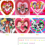 Powerpuff Girls Scorecard by BeeWinter55