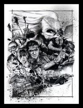 Mad Max: Fury Road by GabeFarber
