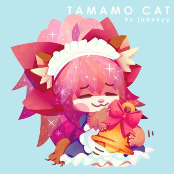 Tamamo Cat by Jadekyy