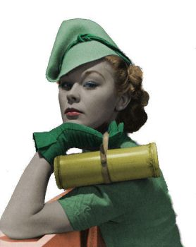 30's Model Colorized by ajax1946