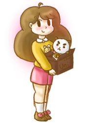 Bee and Puppycat doodle by lillilotus