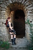 Lara Croft Underworld - entrance by TanyaCroft