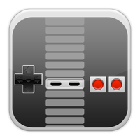 iPhone Style NES Pad by Domrio