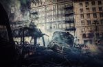 Revolution in Kiev, Ukraine by 5bodyblade
