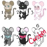 Mice Adopts [OPEN 1/6] by Luxil