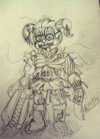 .:Circus Baby teaser:. by JuliArt15