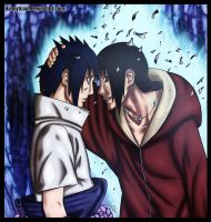 Uchiha brothers by DannyFCool