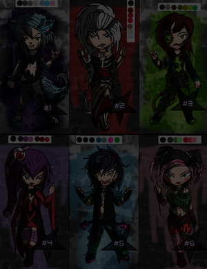 Little Strangers Adopts (( CLOSED )) by I-MAKE-MONSTERS