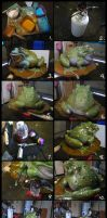 How To Color A Bronze Frog... by RandyHand