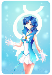 Sailor Mercury - Elysium by BluAjisai