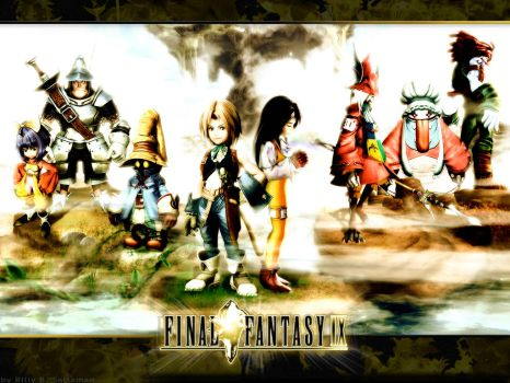 Final Fantasy IX Wallpaper by Billysan291