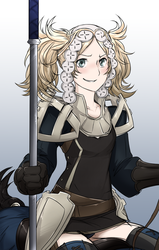 Dark Flier Lissa by EmperorNeuro