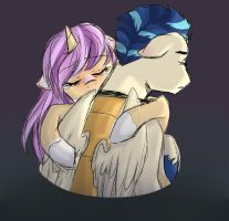 The Hardest Goodbye by h0mi3