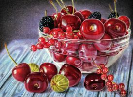 cherries by PutyatinaEkaterina
