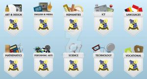 HGSC Faculty Badges by WillZMarler