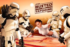Busted in Tatooine by flipation