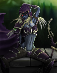 Sylvanas Windrunner, Warchief of the Horde by lostzion