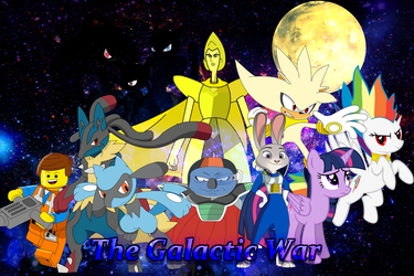 The Galactic War Phase 2 Poster by MarkHoofman