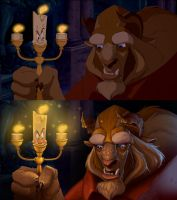 Beauty and the Beast Paint-Over -Tyson Murphy Insp by paradidlle