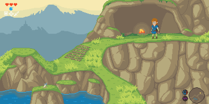 The Legend of Zelda: Breath of the Sprites by Paulo60379