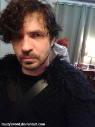 Jon Snow and Ygritte 03 - Game of Thrones Cosplay by trustysword