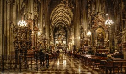 Stephansdom in Vienna 1 by pingallery