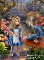 Alice in Wonderland by anais-anais61