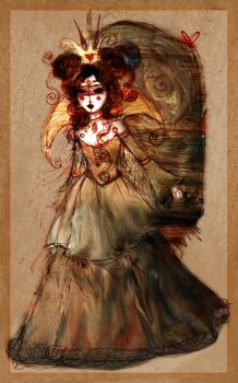 The Spiral Queen by stolenwings