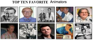 Top Ten Favorite Animators by brazilianferalcat