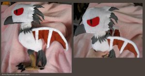 Bloodwing Plushie by DonutTyphoon