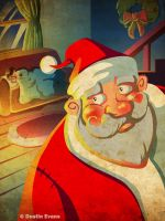 Santa Clause Happy Holidays 2012 by DustinEvans