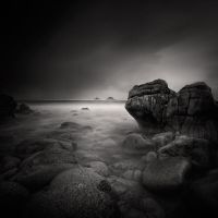 Porth Nanven, A Triptych #2 by Eukendei