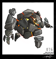 Golem!  Pokemon One a Day!