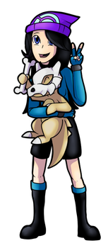 Serenity and Cubone by Eternity9