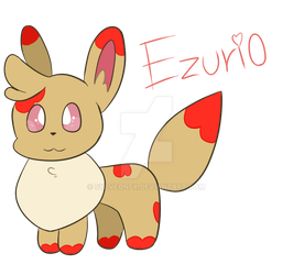 Drawing #1 - Ezurio by SylveonFX