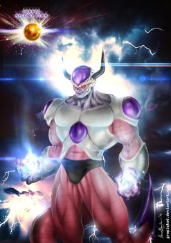 Freeza Second Form by Grapiqkad