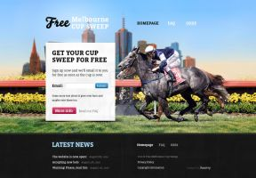 Horse Racing Website by danstrog
