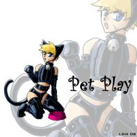 :PET PLAY: KITTEN PLAY by Lorddragonmaster