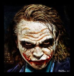 The Joker by HidaKuma