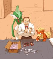 AVENGERS+PKMN - a bit of an enthusiast by FerioWind