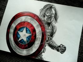 Winter Soldier by Marrannon