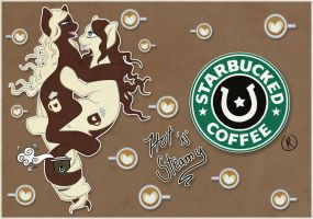 Starbucked Coffee by Inkypad