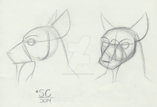TMNT 2k12: Splinter Face/head Reference by MajesticReaper