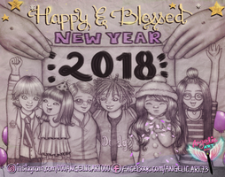 Blessed and Happy New Year my Dears! by oooangelicartooo