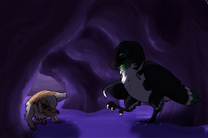 Cave Exploring 3 by red-anteater