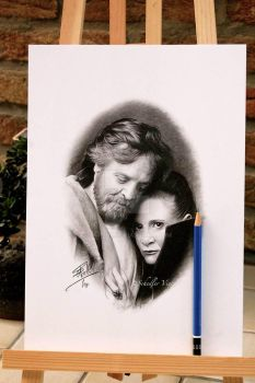 Luc and Leia - Completed . by Cap007