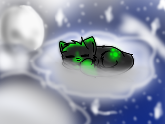 ~Napping Amongst the Stars~ (AT) by DoruTheShortaKitty