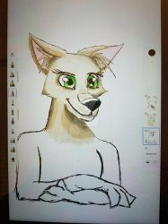 Not bad for my first time on a samsung tablet by Aleu45