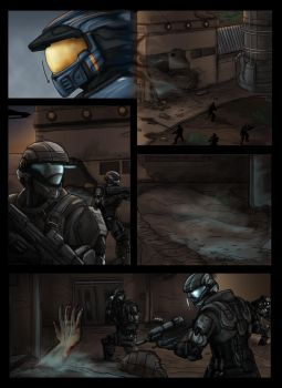 Halo: DogTag Origins Page 3 by Guyver89